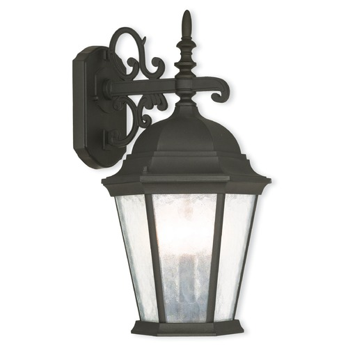 Livex Lighting Livex Lighting Hamilton Textured Black Outdoor Wall Light 75466-14
