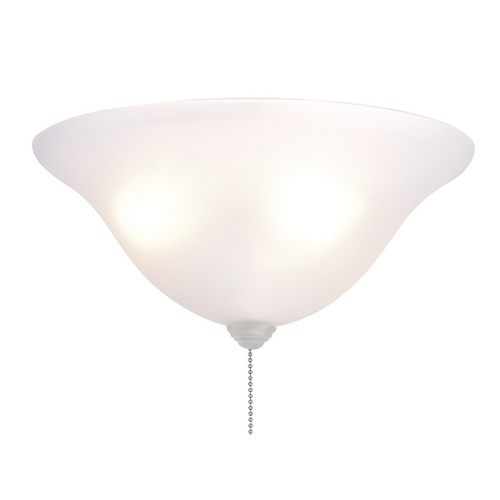 Fanimation Fans Light Kit in White Frosted Finish LK250