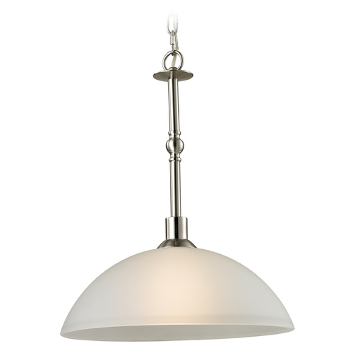 Cornerstone Lighting Cornerstone Lighting Jackson Brushed Nickel Pendant Light 1301PL/20