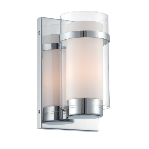 Lite Source Lighting Lite Source Tulio Chrome Sconce LS-16366