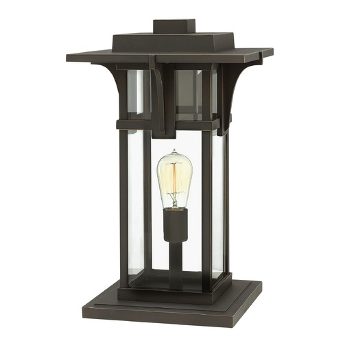 Hinkley Lighting Hinkley Lighting Manhattan Oil Rubbed Bronze Post Light 2327OZ