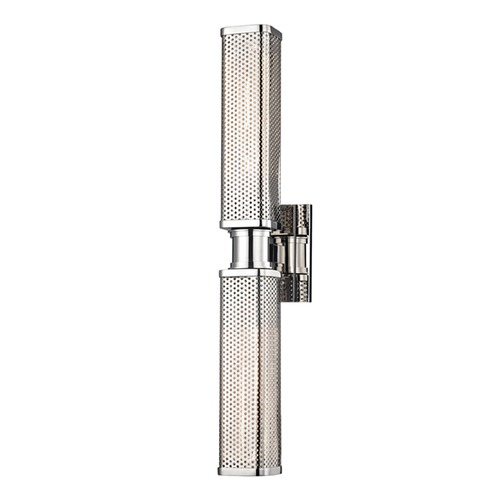 Hudson Valley Lighting Hudson Valley Lighting Gibbs Polished Nickel Sconce 7032-PN