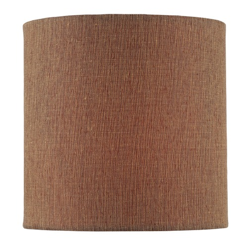 Lite Source Lighting Mocha Cylindrical Lamp Shade with Clip-on Assembly CH5245-5