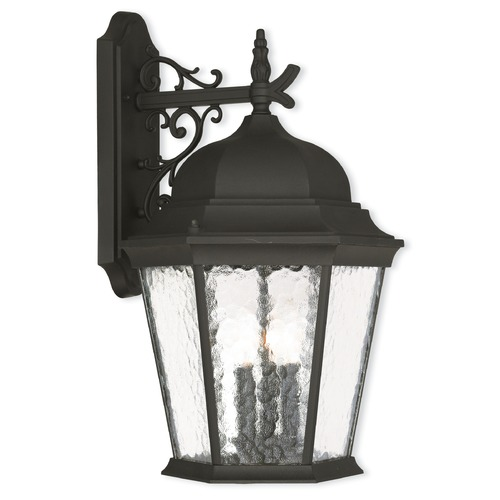 Livex Lighting Livex Lighting Hamilton Textured Black Outdoor Wall Light 75471-14