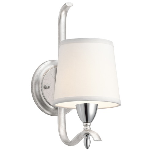 Kichler Lighting Kichler Lighting Cordova Silver Leaf Sconce 43838SIL