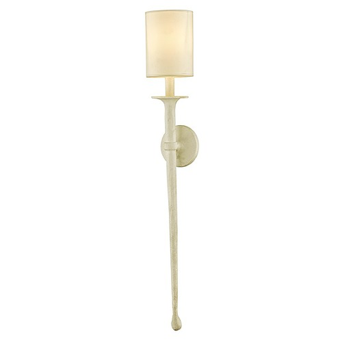 Troy Lighting Troy Lighting Faulkner Gesso White Sconce B6542