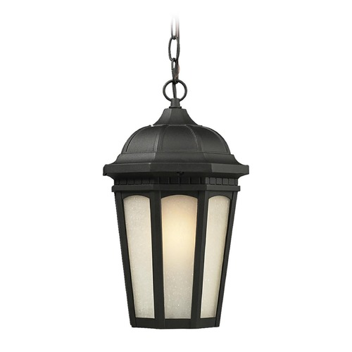 Z-Lite Z-Lite Newport Black Outdoor Hanging Light 508CHM-BK