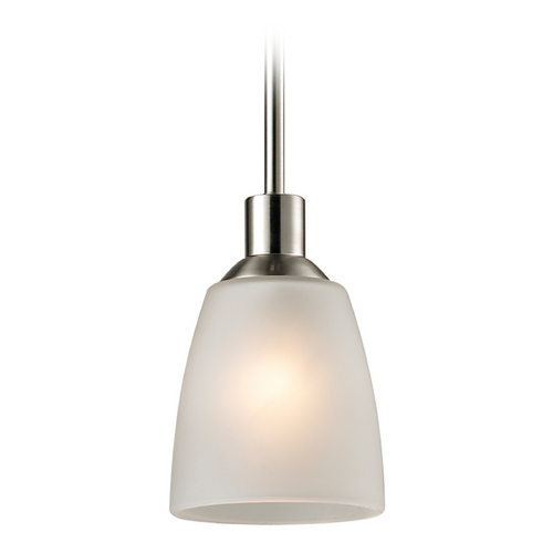 Thomas Lighting Thomas Lighting Jackson Brushed Nickel Mini-Pendant Light 1301PS/20