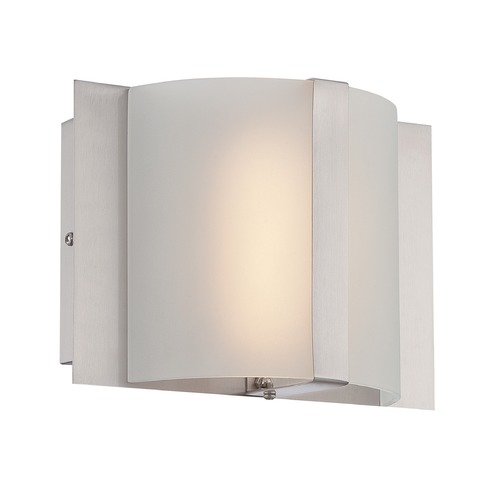 Lite Source Lighting Lite Source Waldo Polished Steel LED Sconce LS-16368