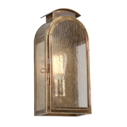 Troy Lighting Troy Lighting Copley Square Historic Brass Outdoor Wall Light BF4401HBZ