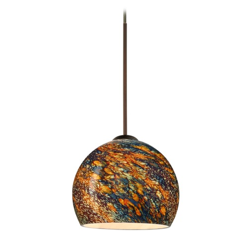 Besa Lighting Besa Lighting Palla Bronze LED Mini-Pendant Light 1XT-5658CE-LED-BR