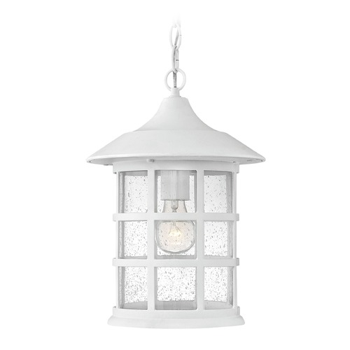 Hinkley Lighting Hinkley Lighting Freeport Classic White Outdoor Hanging Light 1802CW-GU24