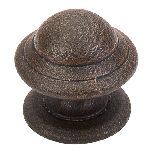 Top Knobs Hardware Cabinet Knob in Rust Finish M12