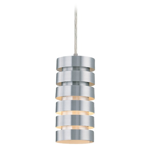 Lite Source Lighting Aluminum Mini-Pendant Light LS-19921ALU