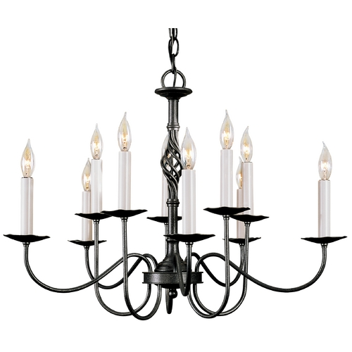Hubbardton Forge Lighting Chandelier in Natural Iron Finish 108100-20