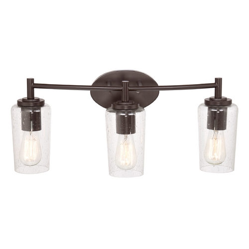 Quoizel Lighting Quoizel Edison Western Bronze Bathroom Light EDS8603WT