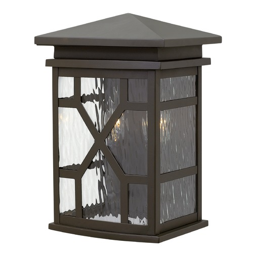 Hinkley Lighting Hinkley Lighting Clayton Oil Rubbed Bronze Outdoor Wall Light 2430OZ