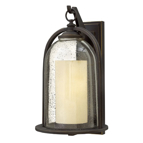Hinkley Lighting Hinkley Lighting Quincy Oil Rubbed Bronze Outdoor Wall Light 2618OZ