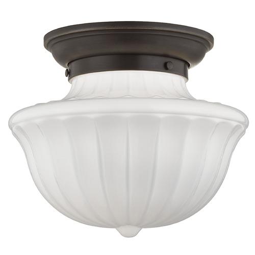 Hudson Valley Lighting Dutchess: Dutchess 1 Light Semi-Flushmount Light