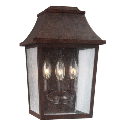 Feiss Lighting Feiss Lighting Estes Patina Copper Outdoor Wall Light OL11901PCR