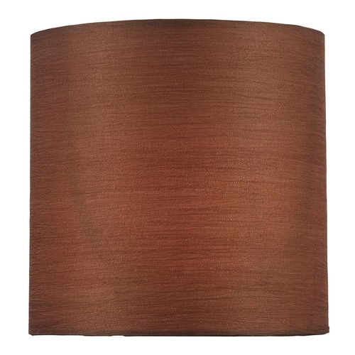 Lite Source Lighting Copper Bronze Cylindrical Lamp Shade with Spider Assembly CH5248-5