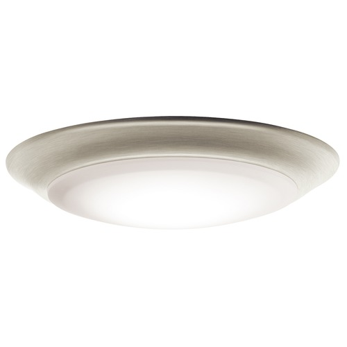 Kichler Lighting Kichler Lighting Brushed Nickel LED Flushmount Light 43848NILED30