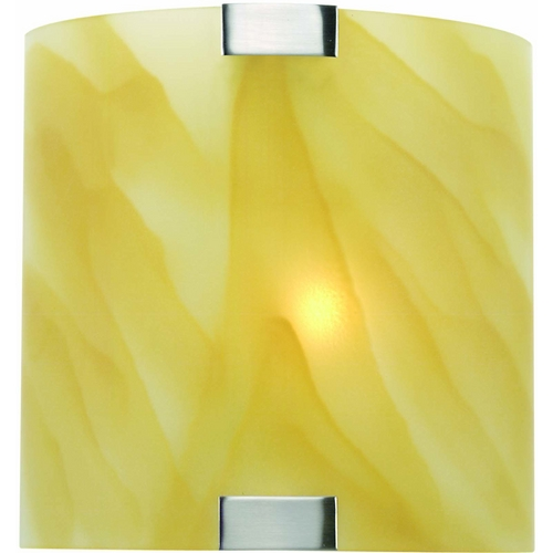 Lite Source Lighting Lite Source Lighting Nimbus Sconce LS-1395L/AMB
