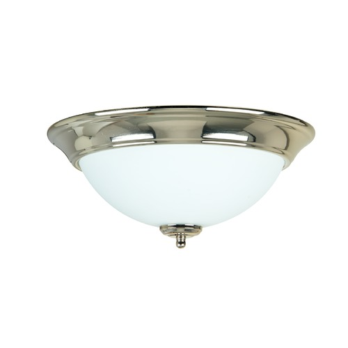 Craftmade Lighting Craftmade Polished Nickel Flushmount Light X1213-PLN