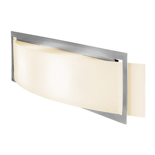 Access Lighting Access Lighting Argon Brushed Steel Sconce C62105BSOPLEN1226BS