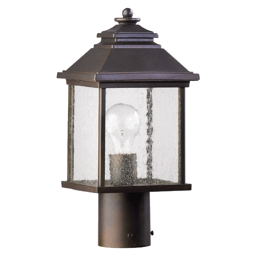 Quorum Lighting Quorum Lighting Pearson Oiled Bronze Post Lighting 7942-7-86