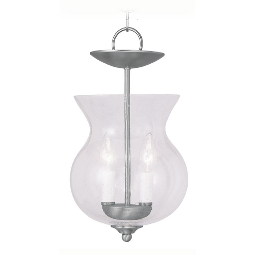 Livex Lighting Livex Lighting Legacy Brushed Nickel Mini-Pendant Light 4392-91