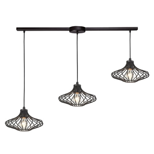 Elk Lighting Elk Lighting Yardley Oil Rubbed Bronze Multi-Light Pendant 14240/3L