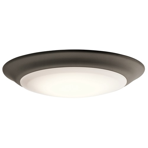 Kichler Lighting Kichler Lighting Olde Bronze LED Flushmount Light 43848OZLED27