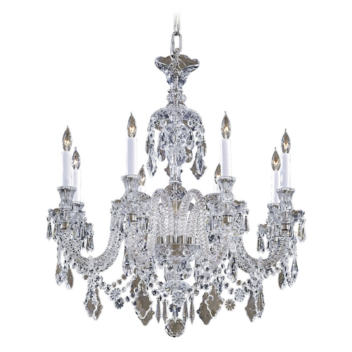 Metropolitan Lighting Crystal Chandelier in Clear Crystal Finish N9006