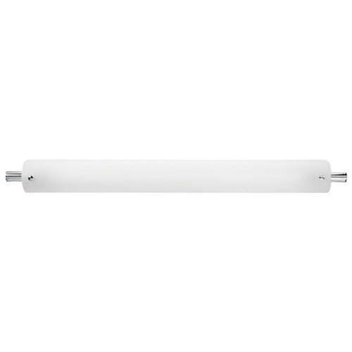 Access Lighting Vail Brushed Steel Bathroom Light - Vertical or Horizontal Mounting 31003-BS/OPL