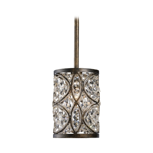 Elk Lighting Mini-Pendant Light with Clear Glass 11285/1