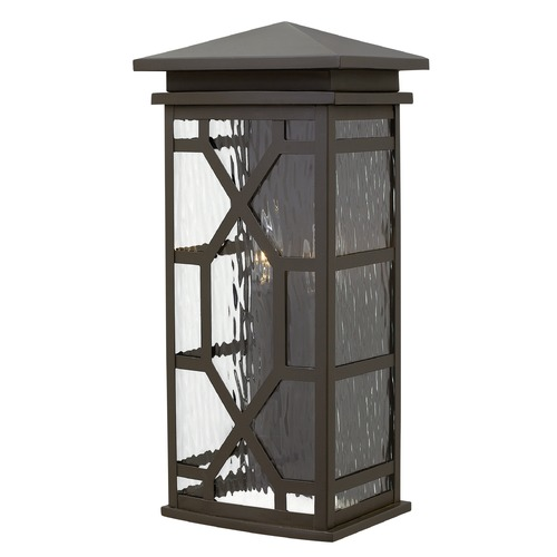 Hinkley Lighting Hinkley Lighting Clayton Oil Rubbed Bronze Outdoor Wall Light 2434OZ