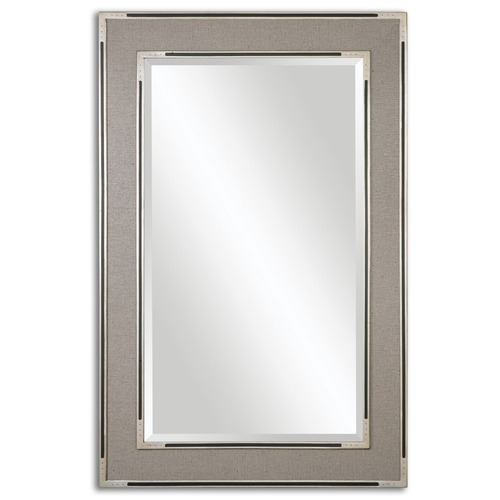 Uttermost Lighting Uttermost Alfred Oversized Gray-Tan Mirror 14489