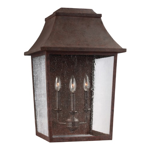 Feiss Lighting Feiss Lighting Estes Patina Copper Outdoor Wall Light OL11903PCR