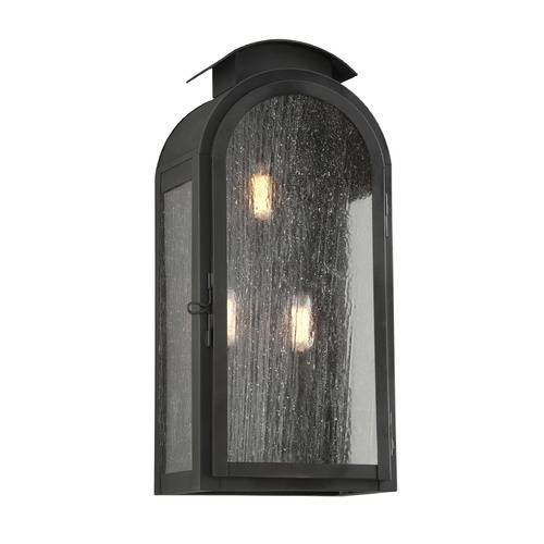 Troy Lighting Troy Lighting Copley Square Charred Iron Outdoor Wall Light BF4403CI