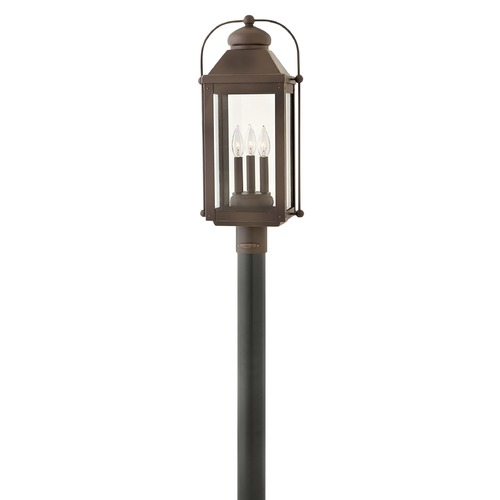 Hinkley Lighting Hinkley Lighting Anchorage Light Oiled Bronze Post Light 1851LZ