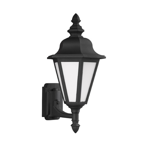 Sea Gull Lighting Sea Gull Lighting Brentwood Black Outdoor Wall Light 89824-12