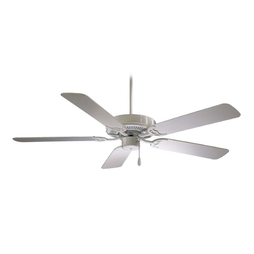 Minka Aire Ceiling Fan Without Light in White Finish F547-WH