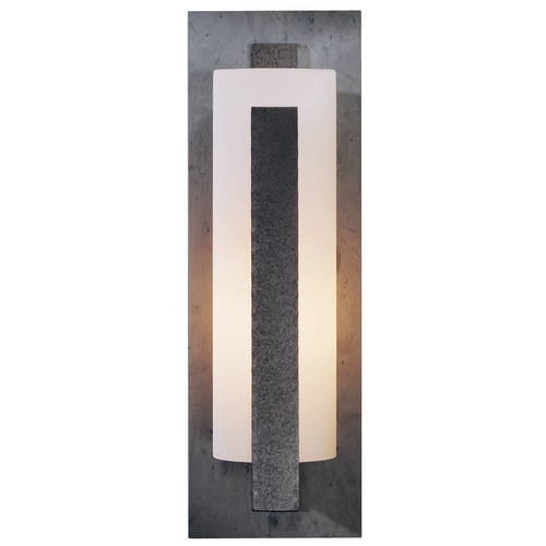 Hubbardton Forge Lighting Large Outdoor Wall Light - 24-Inches Tall 307287-SL-20-G37