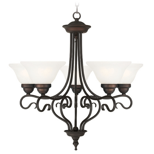 Livex Lighting Livex Lighting Coronado Bronze Chandelier 6115-07