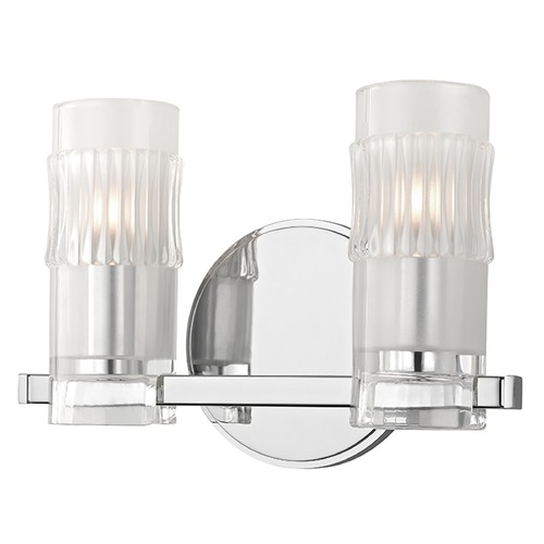 Hudson Valley Lighting Malone 2 Light Bathroom Light - Polished Chrome 2022-PC