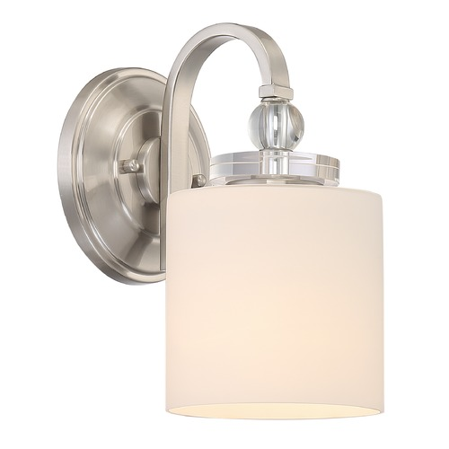 Quoizel Lighting Quoizel Lighting Downtown Brushed Nickel Sconce DW8701BN