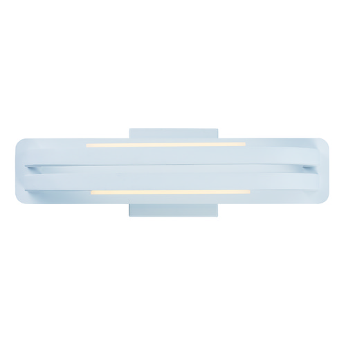 ET2 Lighting Jibe Matte White LED Sconce E23201-MW