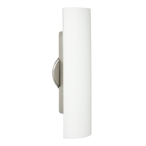 Besa Lighting Besa Lighting Darci Satin Nickel Sconce 272507-SN