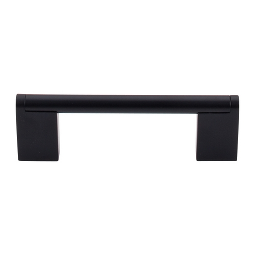 Top Knobs Hardware Modern Cabinet Pull in Flat Black Finish M1055
